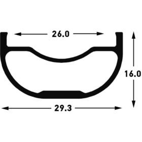 "NoTubes ZTR Arch MK3 Wheelset 29"" Boost 15x110mm/12x148mm SRAM XD"